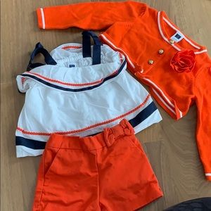 Janie & Jack outfit. 3-6 Months.
